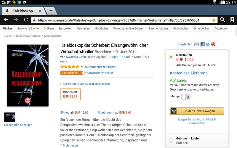 """Bestseller """"Kaleidoskop"""" als Weihnachtsgeschenk"""