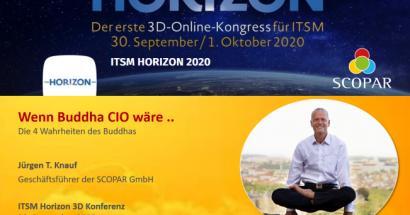 30.9.2020 (21.00 Uhr) 3D-Online-Kongress: Wenn Buddha CIO wäre ..